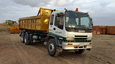 Bin Hire Truck in Keilor